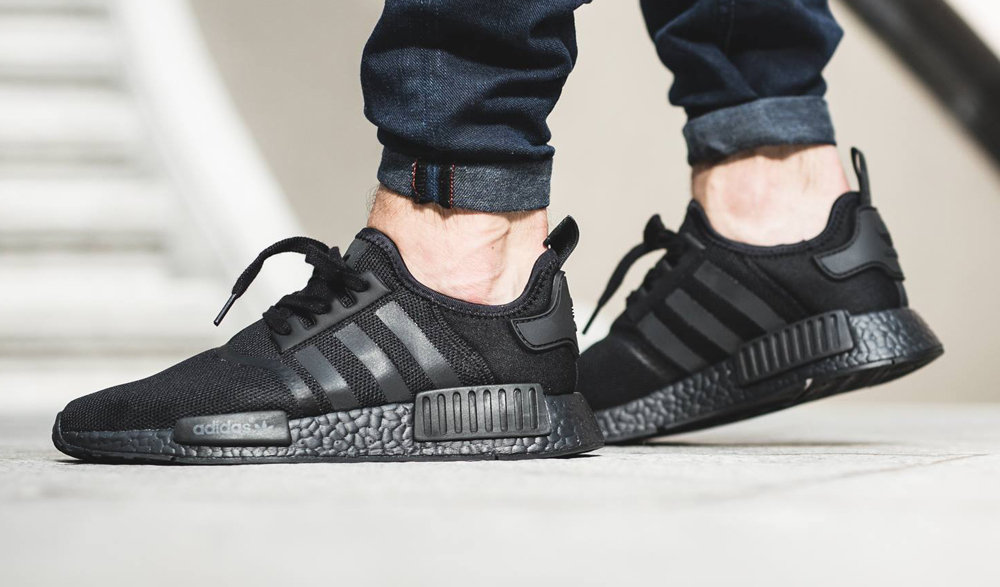 3e446db27221 Adidas Nmd Triple Black   Buy cheap Adidas shoes online - Clvyall.com