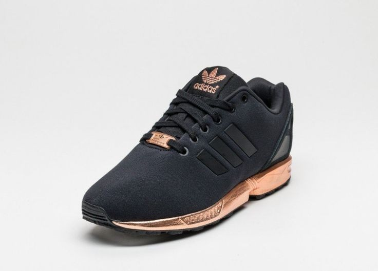 adidas zx flux black and rose gold