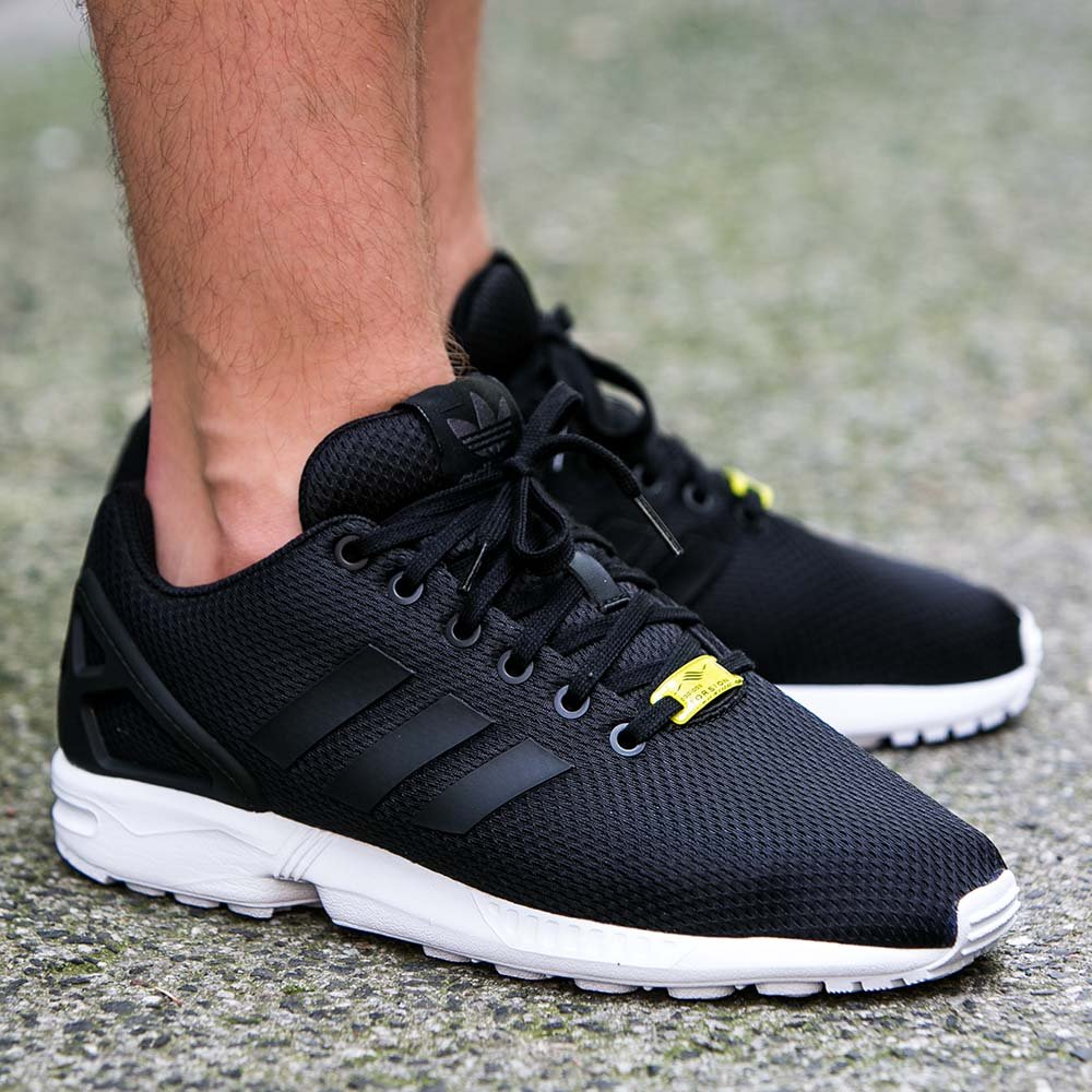 more photos 3ce0d fb8d8 adidas zx flux black