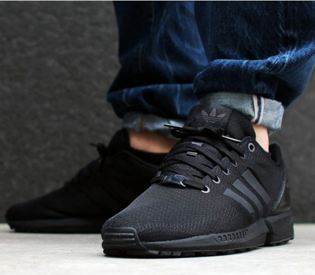 adidas zx flux j core black